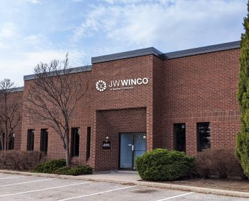 JW Winco's new branch office.