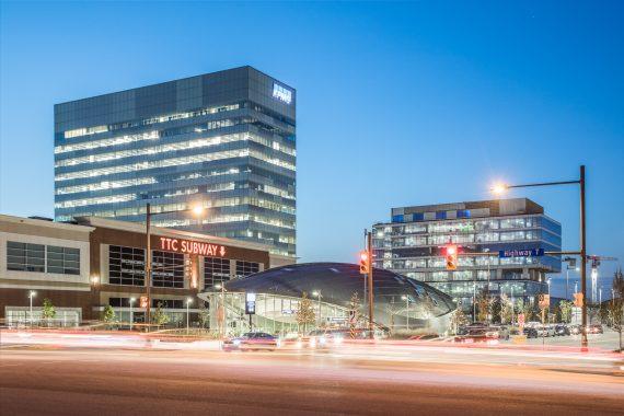 Vaughan Metropolitan Centre from Highway 7